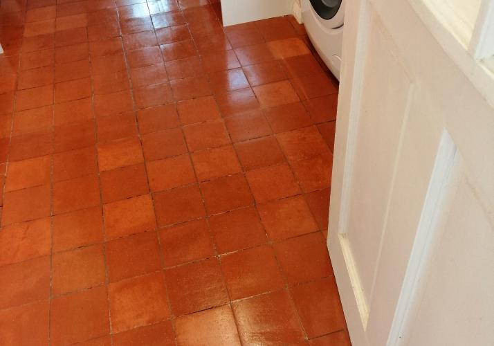Cleaned tiling